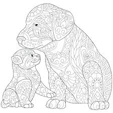 Cute Dog Coloring Pages Cute Dogs Coloring Pages To Print Dog