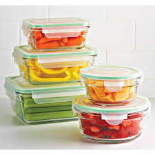 Glass Food Storage Containers With Locking Lids Gorgeous Glasslock Square Food Containers With Lids The Container Store