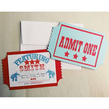 Circus Party Invitation Impressive Circus Invitation Carnival Invitation Circus Party Etsy