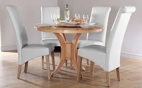 modern white round dining table set for 4 eva furniture wonderful white round dining table set