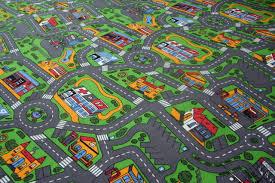 road map rug uk