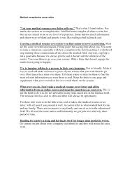 Cv Cover Letter Medical Cv Cover Letter Unemployed 2 How To Write