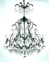 chandelier black wrought iron wrought iron orb chandelier interesting wrought iron crystal orb chandelier about remodel