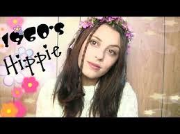 style trial 60 s hippie flower child transformation makeup tutorial
