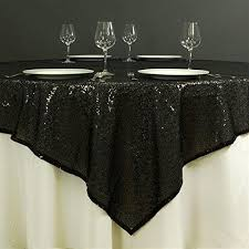 72 inch round black sequin tablecloth or fabric tablecloths for wedding xmas party