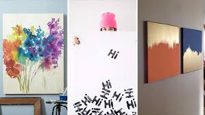 on easy wall art painting ideas with 15 super easy diy canvas painting ideas for artistic home decor