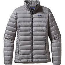 Patagonia Women's Jackets | eBay & Patagonia Womens Down Sweater Jacket 84683 Feather Grey L Adamdwight.com