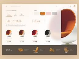 Furniture web interface. Furniture WebsitesWeb LayoutDesign ...