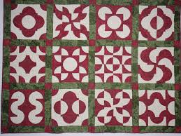 Drunkards Path Quilt Pattern Stunning Red And Green Drunkard's Path Quilt Crystal Vision Quilting