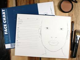 Textured Paper For Face Charts Details About The Face Chart Face Chart Book 30 Pages High Quality Thick Textured Paper