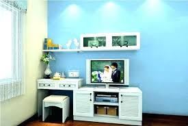 desk and tv stand
