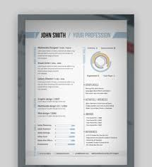 One Page Resume Templates Modern 009 One Page Resume Format Single Download Templates Word