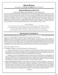 sample resume for business analyst sample resume business analyst charles fulton examples of resumes e