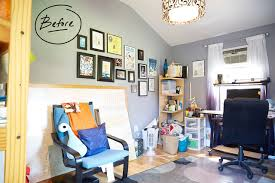 Finished office makeover Ideas Angelas The Container Store Home Office Organization Our Contest Winners