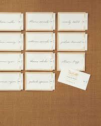 Seating And Table Card Clip Art And Templates Martha Stewart Weddings