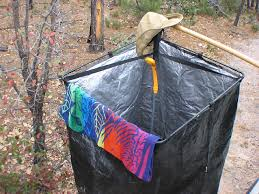 camping shower