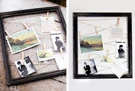 repurposed vintage frame