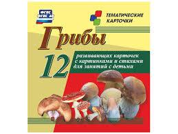 <b>Пособие учитель грибы н-203</b> купить в интернет-магазине ...