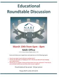 roundtable discussion march 2016