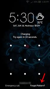 How To Unlock Phone Pattern Cool Forget Pattern Lock Of Your Android Phone To Unlock Easily Follow