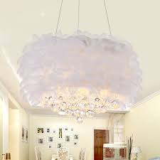 feather crystal chandeliers bedroom chandeliers with k9 standard