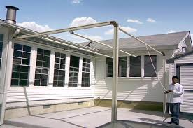 retractable awnings by litra