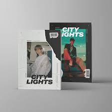 City Lights Home Entertainment 3rd Baekhyun The 1st Mini Album City Lights Night Ver