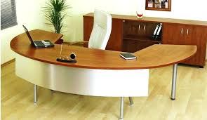curved office desk. Curved Office Desk Image Of With Computer Black . M