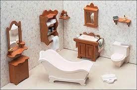 Full House of Dollhouse Furniture kits – The Magical Dollhouse