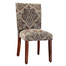 image unavailable image not available for color homepop parsons upholstered accent dining chair set