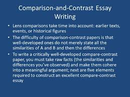 how to write a comparative analysis mr pletsch comparison and 8 comparison and contrast