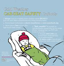 winter car seat safety tips ergiggles