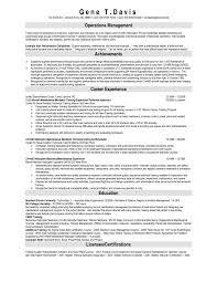 Automotive Technician Resume Examples Heavy Equipment Mechanic