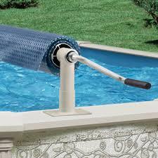 above ground pool solar covers. Aqua Splash Pro Above Ground Pool Solar Cover Reel System Covers Poolcenter