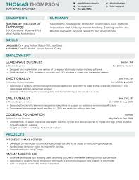 Create A Resume Online For Free