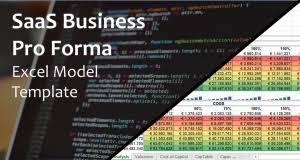 Software As A Service Saas Excel Models Instant Downloads Eloquens