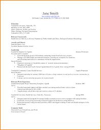 Resume For Health Science Majors Functional Resume Jobsxs Com