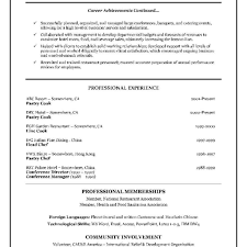Sample Canadian Resume Format resume format in canada Thevillasco 7