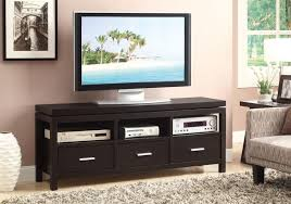 LIVING ROOM  TV CONSOLES  Casual Cappuccino Console