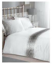 sequin bedding single duvet cover pink set