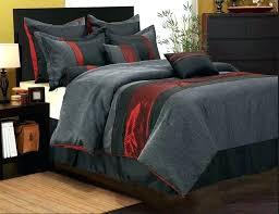 queen red comforter 7 piece bedding set queen gray bedding sets queen red and gray bedding queen red comforter paisley comforter set