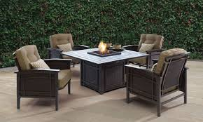 picture of coronado outdoor fire pit dining room