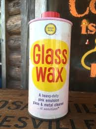 glass wax pink can vintage gold seal glass wax metal cleaner tin can old fashioned pink glass wax
