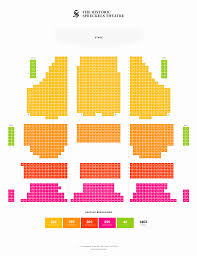 Spreckels Seating Chart Final V2 Spreckels Theatre