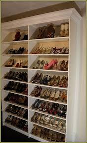 ... Nice Custom Shoe Rack Ideas Custom Closet Shoe Rack Home Design Ideas  ...