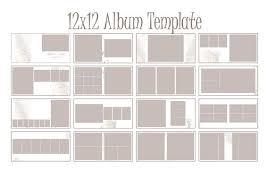 Wedding Album Templates Indesign Instant Download 12x12 Square Album Indesign Template For