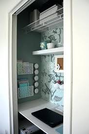 small closet office ideas. Closet Desk Ideas Turned Craft Office Good For Small Closets Into