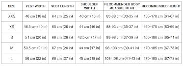 Size Chart Kotes By Kobe