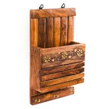 rusticity wooden letter rack 10 in x 6
