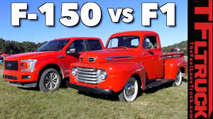 From 1950 Ford F1 to 2018 F150: How Much Has the Pickup Changed in ...